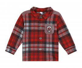 Детска риза с дълъг ръкав 3Pommes 3R13013-39, момче, 9 м.-4 г.