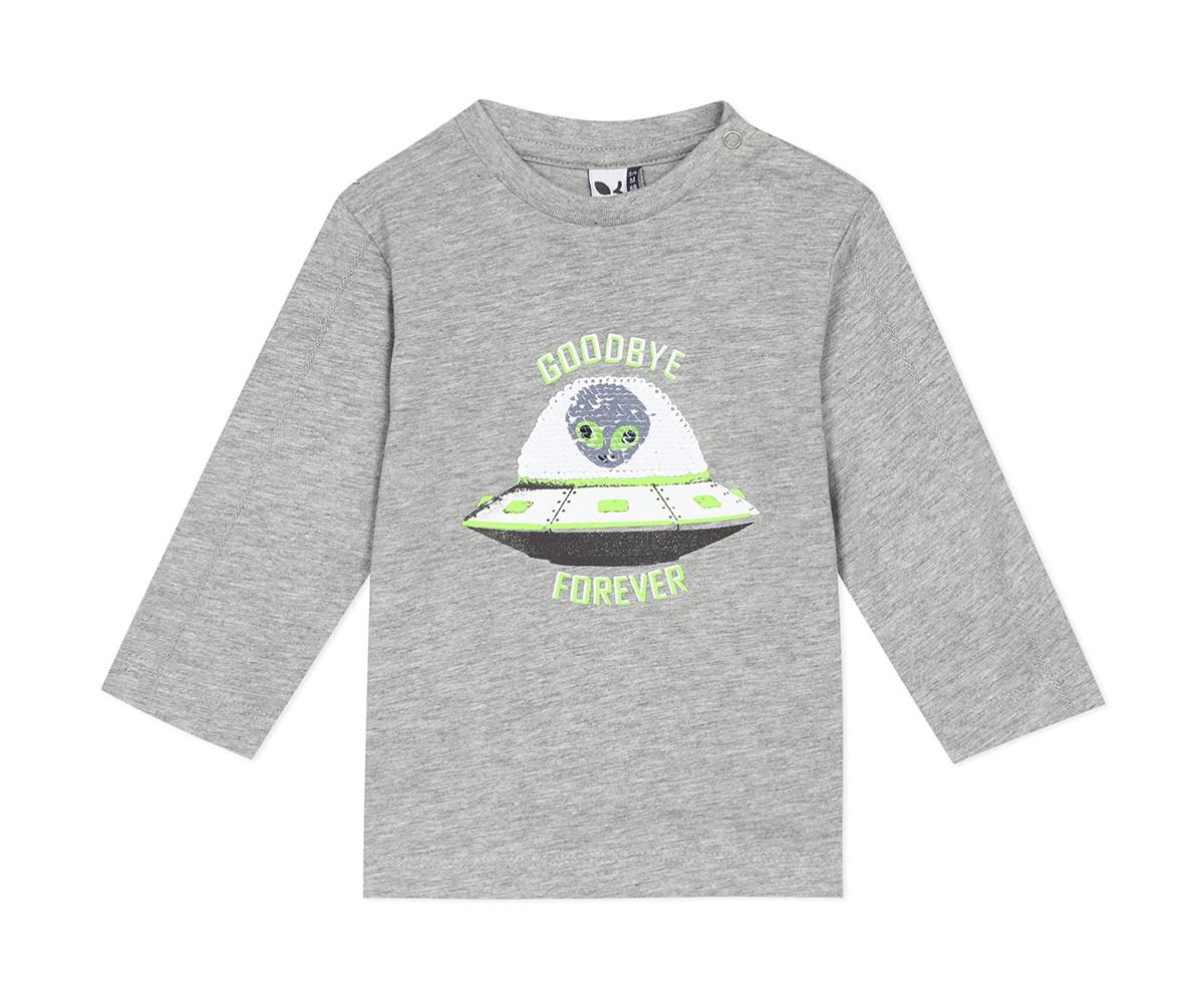 Детскa тениска с дълъг ръкав 3Pommes 3R10043-260, момче, 9 м.-4 г.