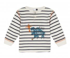 Детскa тениска с дълъг ръкав 3Pommes 3R10073-11, момче, 9 м.-4 г.