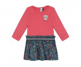Детска рокля с дълъг ръкав 3Pommes 3R30072-323, 6 м.-3 г.