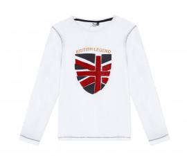 Детскa тениска с дълъг ръкав 3Pommes 3R10085-01, момче, 3-10 г.