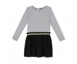 Детска рокля с дълъг ръкав 3Pommes 3R30014-02, 3-10 г.