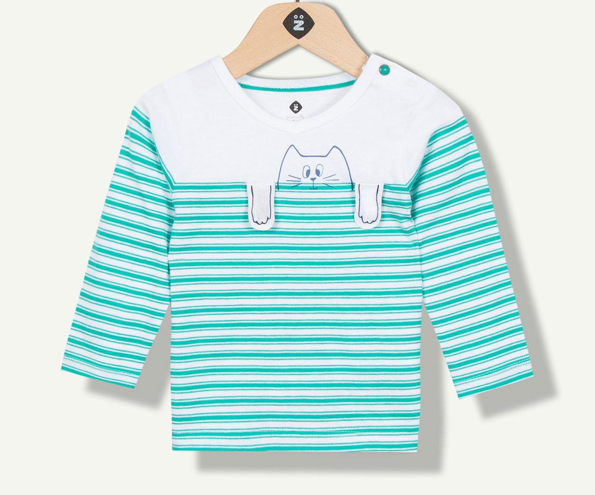 тениска с дълъг ръкав марка Z с фабричен № 1N10290-01, за момче за възраст 3 м.- 4 г.
