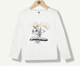 тениска с дълъг ръкав марка Z с фабричен № 1N10401-11, за момиче за възраст 2-14 г.