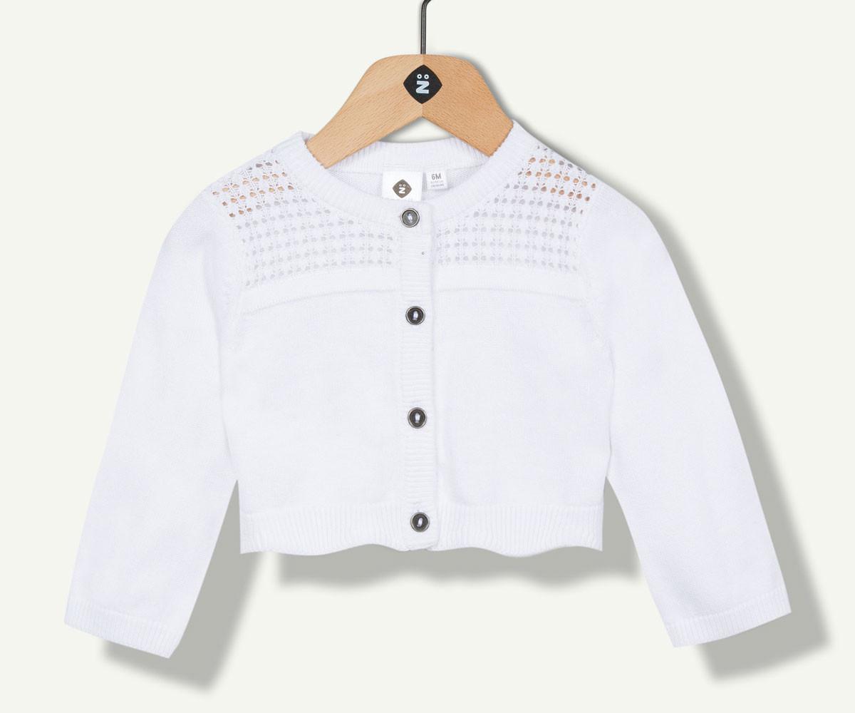 плетена жилетка марка Z с фабричен № 1N17200-01, за момиче за възраст 3м.- 4 г.