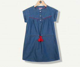 дънкова рокля с къс ръкав марка Z с фабричен № 1N30061-44, за момиче за възраст 2-14 г.
