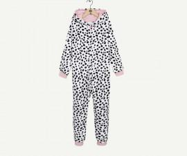 Детска пижама гащеризон с качулка Z 1P50031-01, момиче, 4-12 г.