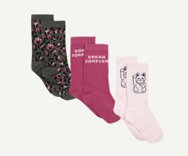 Детски чорапи, 3 чифта Z 1P93001-31, момиче, №35-38