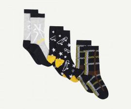 Детски чорапи, 3 чифта Z 1P93131-04, момче, №31-34