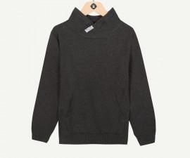 Детски пуловер с висока яка Z 1P18041-24, момче, 3-14 г.