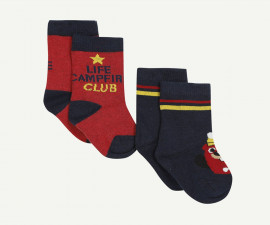 Детски чорапи, 2 чифта Z 1P93150-04, момче, №15-26