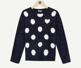 Детски пуловер Z 1P18071-11, момиче, 3-14 г.