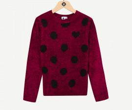 Детски пуловер Z 1P18071-39, момиче, 3-14 г.