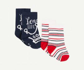 Детски чорапи, 2 чифта Z 1P93140-04, момче, №15-26