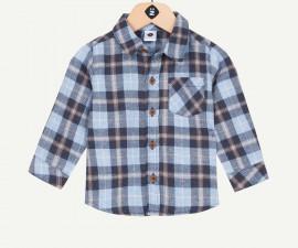 Детска карирана риза с дълъг ръкав Z 1P12040-04, момче, 3-36 м.