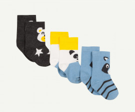 Детски чорапи, 3 чифта Z 1P93080-29, момче, №15-18