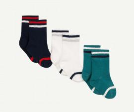 Детски чорапи, 3 чифта Z 1P93060-04, момче, №19-22