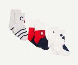 Детски чорапи, 3 чифта Z 1P93090-04, момче, №15-26