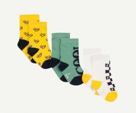 Детски чорапи, 3 чифта Z 1P93070-07, момче, №15-26