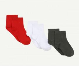 Детски къси чорапи 3 чифта Z 1Q93081-03, момче, №23-38