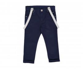 Дълъг панталон с тиранти Трибионд 62498-75B, момче, размери:8-14 г.