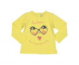 Блуза с дълъг ръкав Бирба 64026-35A, момиче, размери:9 м.-2.5 г.