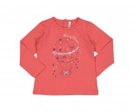 Блуза с дълъг ръкав Бирба 64026-50D, момиче, размери:9 м.-2.5 г.