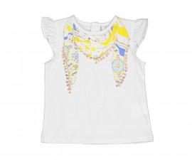 Детска тениска с къс ръкав Birba 84041-11A, момиче, 6-24 м.