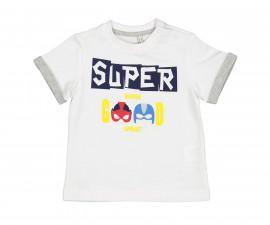 Детска тениска с къс ръкав Birba 84046-11A, момче, 6-24 м.