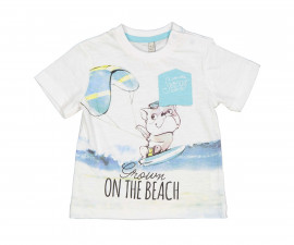 Детска тениска с къс ръкав Birba 84060-11A, момче, 6-24 м.