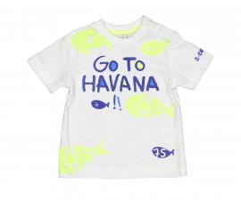 Детска тениска с къс ръкав Birba 84068-11A, момче, 6-30 м.
