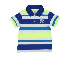 Детска тениска с къс ръкав с яка Birba 84808-97Z, момче, 6-24 м.