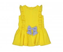 Детска рокля с къс ръкав Birba 85318-35C, 6-24 м.