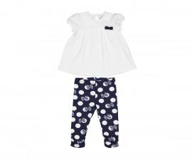 Детски комплект блуза с клин Birba 89022-11A, момиче, 6-24 м.