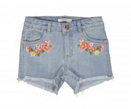 Детски къси дънкови панталони Trybeyond 81994-60A, момиче, 2-8 г.