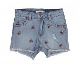 Детски къси дънкови панталони Trybeyond 81996-60A, момиче, 2-8 г.