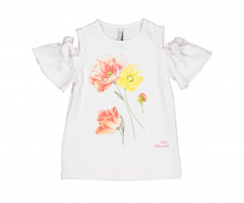 Детска блуза с къс ръкав Trybeyond 84424-11A, момиче, 2-3 г.