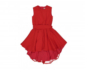 Детска рокля без ръкав с колан Trybeyond 85583-50O, 2-8 г.