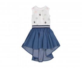 Детска рокля без ръкав с дънкова пола Trybeyond 85591-94Z, 2-8 г.