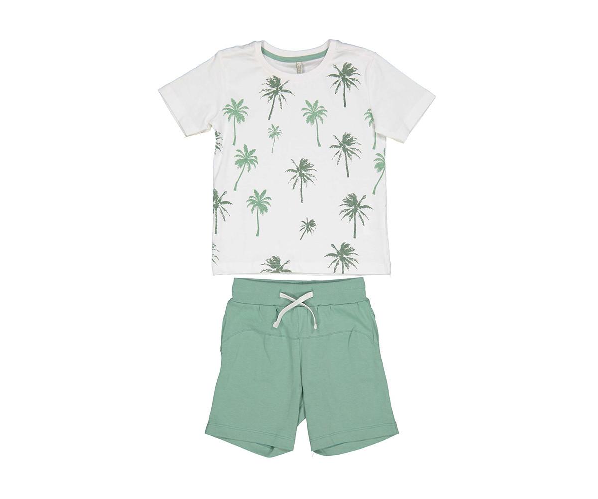 Детски комплект тениска с къси панталони Trybeyond 89990-11A, момче, 2-8 г.