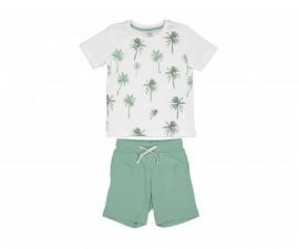Детски комплект тениска с къси панталони Trybeyond 89990-11A, момче, 7-8 г.