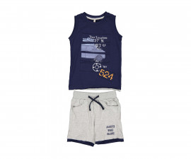 Детски комплект потник с къси панталони Trybeyond 89991-75D, момче, 2-8 г.