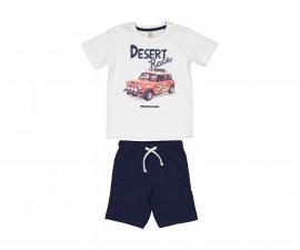 Детски комплект тениска с къси панталони Trybeyond 89992-11A, момче, 2-8 г.