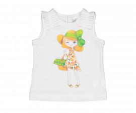 Детска тениска без ръкав Birba 84031-11A, момиче, 6-30 м.