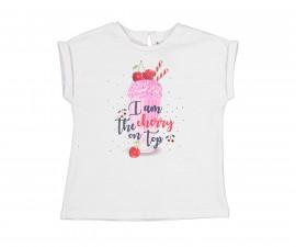 Детска тениска с къс ръкав Birba 84076-11A, момиче, 6-30 м.