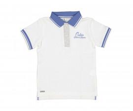 Детска тениска с къс ръкав и яка Trybeyond 84898-07M, момче, 2-9 г.