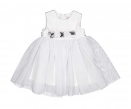Детска рокля без ръкав с пола от тюл Birba 85311-11A, 6-30 м.