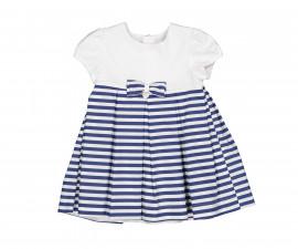 Детска рокля с къс ръкав Birba 85323-97Z, 6-30 м.