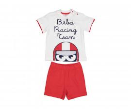 Детски комплект тениска с къси панталони Birba 89010-11A, момче, 6-30 м.