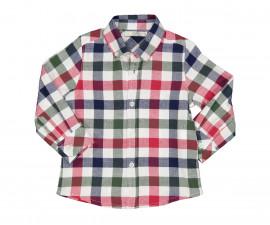 Детска риза с дълъг ръкав Бирба 90008-95Z, момче, 9-30 м.